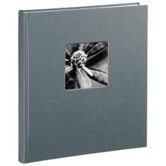 Hama Fine Art Bookbound Dry Mount 290x320 Grey Photo Album - 50 page