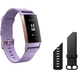 Fitbit Charge 3 Special Edition (Lavender Woven/Rose Gold Aluminium)