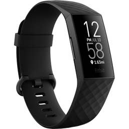 Fitbit Charge 4 (Black/Black Aluminium) FB417BKBK