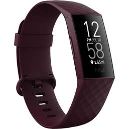 Fitbit Charge 4 (Rosewood / Aluminium) FB417BYBY