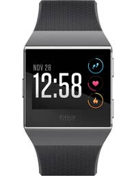 Fitbit Ionic Smart Fitness Watch (Charcoal/Smoke Grey)