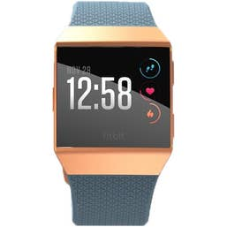 Fitbit Ionic Smart Fitness Watch (Slate Blue/Burnt Orange)