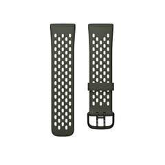 Fitbit Sport Band for Sense & Versa 3 Smartwatches (Small - Evergreen/Lunar White)