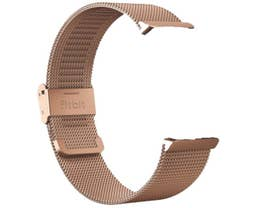Fitbit Stainless Steel Mesh Band for Inspire 2 Fitness Trackers (Rose Gold)