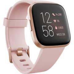 Fitbit Versa 2 Smart Fitness Watch(Petal/Copper Rose)