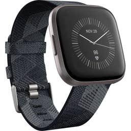 Fitbit Versa 2 Special Edition with Woven Band Smoke