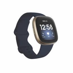 Fitbit Versa 3 - Midnight/Soft Gold