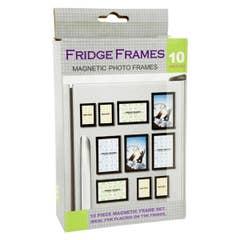"""Fridge Magnet Pack 4x6"""" w. 10x Magnetic Frames per pack"""