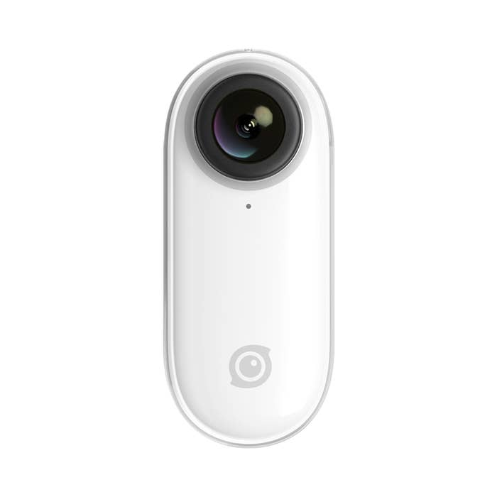 Insta360 Go Cam, smallest everyday action camera with magnet pendant for effortless POV video