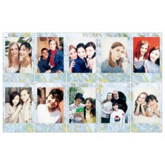 Fuji instax mini Blue Marble Film 10 Pack