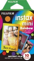 Fuji Instax Mini Rainbow 10 Pack Film