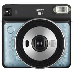Fuji instax SQUARE SQ6 Camera Aqua Blue