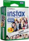 Fuji instax WIDE Film 20 Pack Twin Pack (2X 20 Pk)