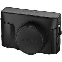Fuji LC-X100V Leather Case - Black for X100V