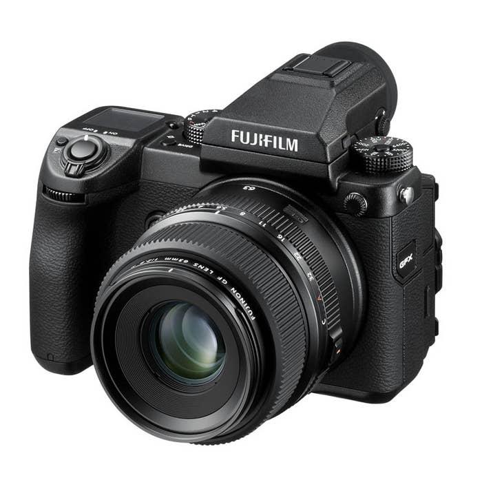 Fujifilm GFX 50S and GF 63mm f2.8 R LM WR Lens Kit