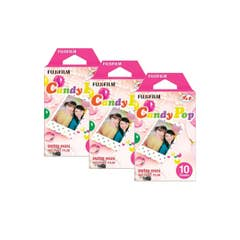 Fujifilm Instax Mini Candy Pop Film 10 Pack (Triple Pack)