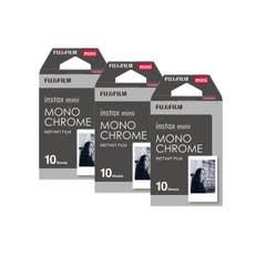 Fujifilm instax mini Monochrome Film 10 Pack (Triple Pack)