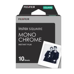 Fujifilm INSTAX SQUARE Monochrome Film 10 Pack