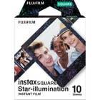 Fujifilm instax SQUARE Star Illumination Film 10 Pack Suitable for instax SQUARE
