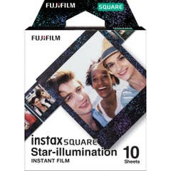 Fujifilm instax SQUARE Star Illumination Film 10 Pack Suitable for instax SQUARE
