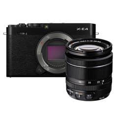Fujifilm X-E4 / XF 18-55mm Black Kit
