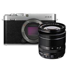 Fujifilm X-E4 / XF 18-55mm Silver Kit