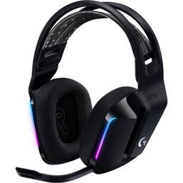 Logitech G733 Lightspeed Wireless RGB Gaming Headset (Black)