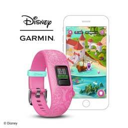 Garmin Vivofit jr. 2 Fitness Tracker (Disney Princess - Pink)
