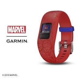 Garmin Vivofit jr. 2 Fitness Tracker (Spider-Man Red)