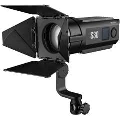 Godox S30 Led Focusing Led Light with Barndoor
