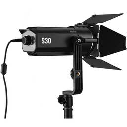 Godox S30 Led Focusing Led Light with Barndoor