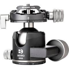 Benro GX35 Low Profile Ball Head - PU56 Plate