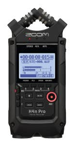 Zoom H4N Pro Handy Recorder All Black Edition