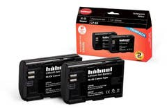Hahnel Battery LP-E6 Twin Pack for Canon 1650mAh 7.2V