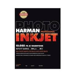 Harman Inkjet Gloss FB AL Warmtone A4 - 50 Sheets