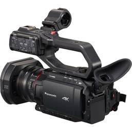Panasonic HC-X2000GC Pro Video Camera 10bit 4K60p with 24x Optical Zoom + 3GSDI & XLR Audio