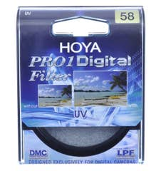 Hoya 58mm UV (O) Pro1D DMC Filter