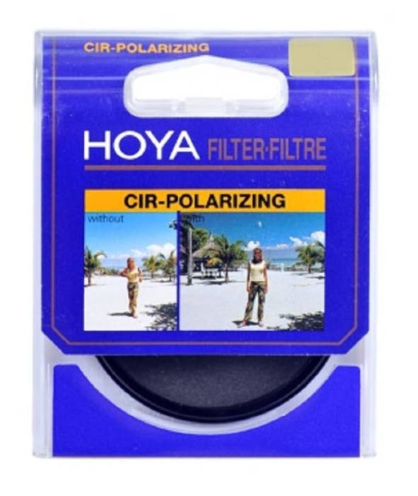 Hoya Circular Polarising 49mm Filter