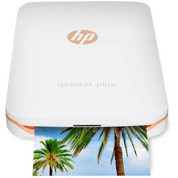 HP Sprocket Plus Pocket Photo Printer (White)