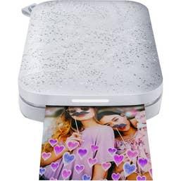 HP Sprocket Pocket Photo Printer 2nd Edition Bundle (Luna)