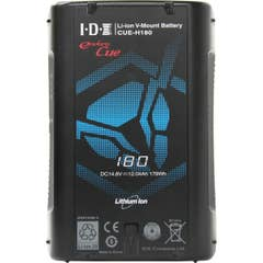 IDX CUE-H180 179Wh Compact Li-Ion V-Mount Battery with 1x D-Tap