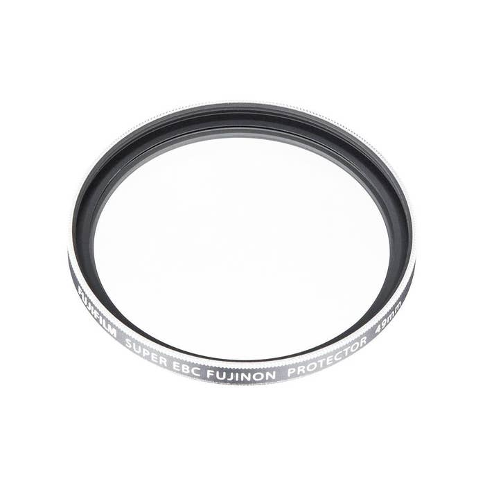 Fujifilm 49mm Protection Filter (PRF-49) Silver