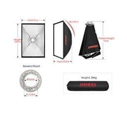 Jinbei QuickOpen 70x100 Umbrella Softbox for Bowens S Type