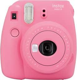 Fujifilm Instax Mini 9 - Flamingo Pink - Creative Bundle Kit.