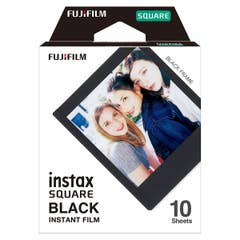 Fujifilm Instax Square Black 10pk Film