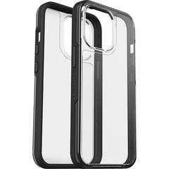 LifeProof SEE Case for Apple iPhone 13 Pro, Clear/Black- 77-85647