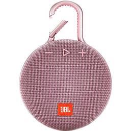 JBL CLIP 3 Portable Bluetooth Speaker (Dusty Pink)