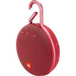 JBL CLIP 3 Portable Bluetooth Speaker (Fiesta Red)