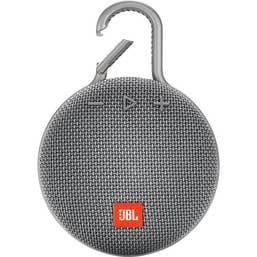 JBL CLIP 3 Portable Bluetooth Speaker (Stone Grey)
