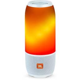 JBL Flip 4 Portable Bluetooth Speaker (White)